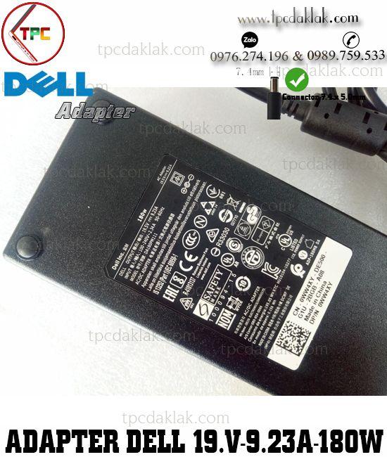Sạc Laptop Dell Kim 19.5V - 9.23A - 180W - 7.4x5.0mm | Sạc Dell Dùng Cho Laptop Dell Workstation ORG