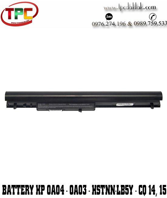 Pin Laptop HP OA04, OA03 HP 15-G057CL 15-d035dx 15-G013DX 15-G070NR HSTNN-LB5Y 14,8 V