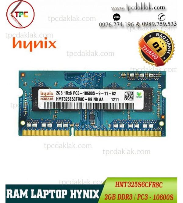 Ram Laptop Hynix 2GB PC3-10600 204 PIN   Ram Laptop Hynix 2GB DDR3 Buss 1333 - HMT325S6CFR8C