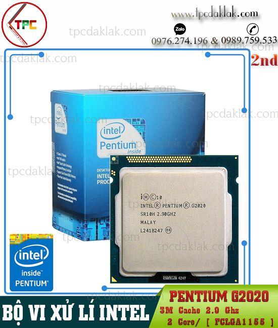 Bộ xử lý Intel® Pentium G2020| CPU Intel® Pentium G2020 ( 2 Core, 3M Cache, 2.9GHz, LGA1155 )