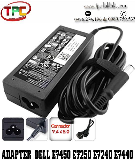 Sạc Laptop Dell Latitude E7450 - E7250 - E7240 - E7440   Adapter Dell 19.5V - 3.34A - 65W