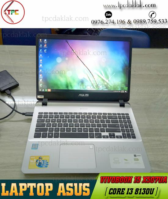 "Laptop Asus VivoBook 15 X507UA / Core I3 8130U/ Ram 4GB / SSD 120GB / UHD Graphics 620 /  15.6""FHD"