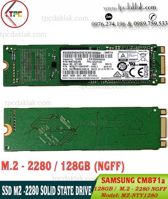 SSD M.2 Sata III 2280 SAMSUNG CM871a - 128GB - MZ-NTY1280 | Ổ cứng SSD M2 2280 128GB