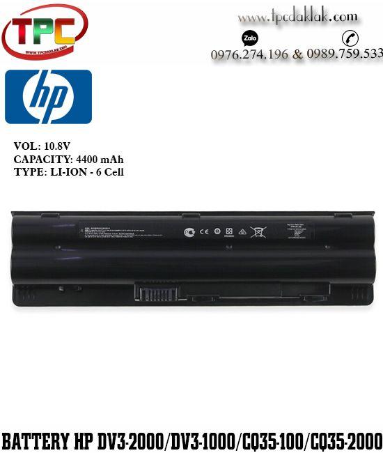 Pin Laptop HPPavilion CQ35 CQ36 DV3-2000 CQ35-223TX 116TU 117TU HSTNN-LB93/IB93 HSTNN-DB93