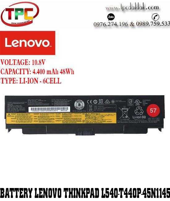 Pin laptop Lenovo ThinkPad L540 T440P-45N1145 | Battery Lenovo Thinkpad L540 T440P ( 57+ )