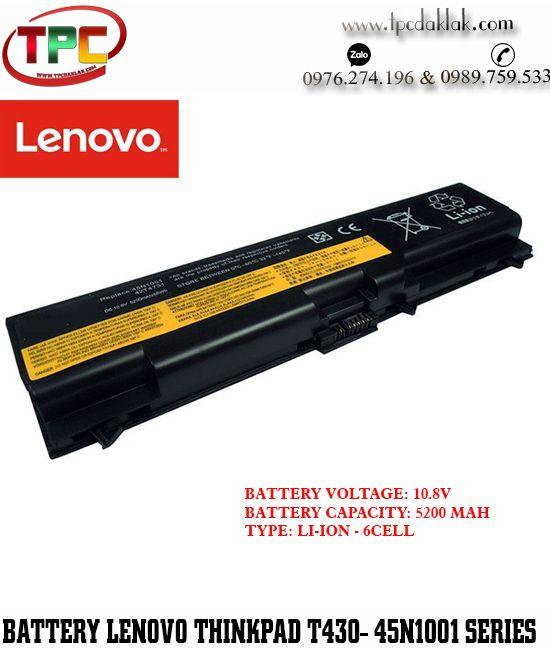 Pin Laptop Lenovo ThinkPad T430-45N1001 | Battery Lenovo T430-45N100,ThinkPad E50