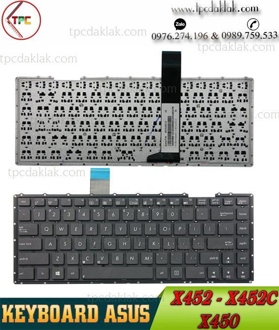 Bàn phím Laptop ASUS X452 - X452C Original | Keyboard Laptop Asus X452 - X452C - X452M - X450