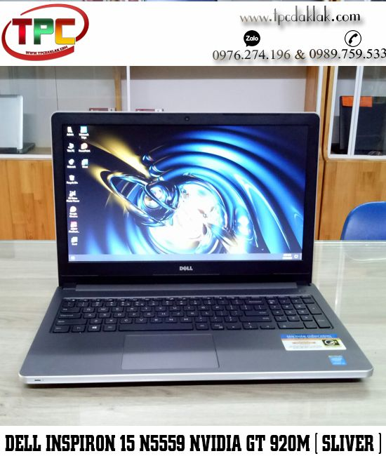 "Laptop Dell Inspiron 15 N5558 / Core I5 5200U / Ram 4GB / HDD 500GB /GT 920M 2GB / LCD 15.6"" HD"