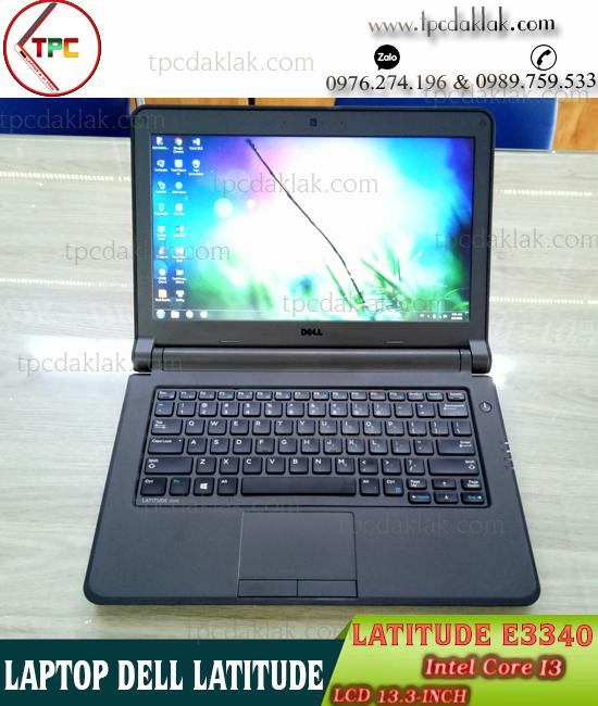 Laptop Dell Latitude E3340 / Core I3 4005U / Ram 4GB / HDD 500GB / HD Graphics Family / LCD 13.3""