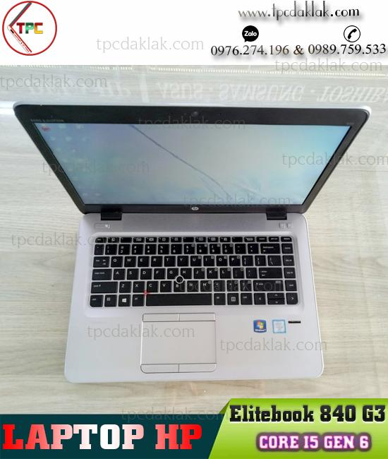 "Laptop HP EliteBook 840-G3 / Core I5 6300 / Ram 4GB / SSD 128GB / HD Graphics 520 / LCD 14"" HD"