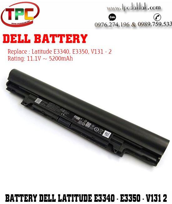 Pin Laptop Dell Latitude E3340, E3350, L3340, L3350, V131-2,  5MTD8 - YFOF9 - YFDF9 - 3340 - 3350