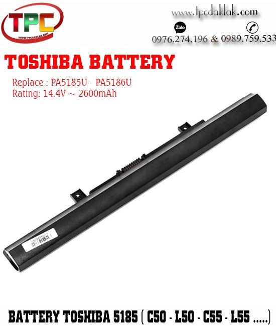 Pin Laptop Toshiba Satellite C55-C, C55D-C, C70-C, C70D, L50, L55, PA1584U, PA1585U, PA1586U