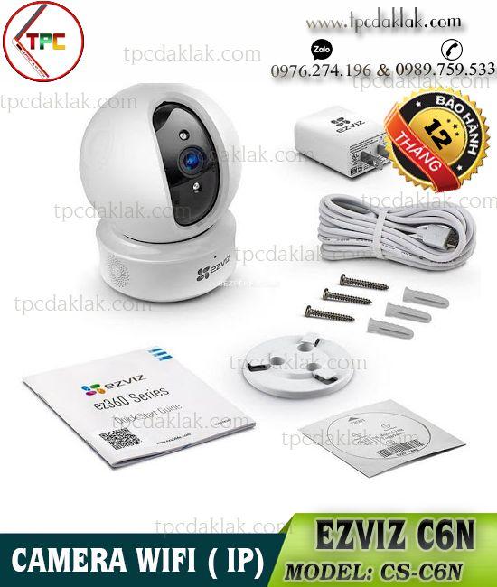 Camera Wifi, Wireless - Không dây EZVIZ C6N | Camera Quan Sát WI-FI EZVIZ CS-C6N 1080P FHD