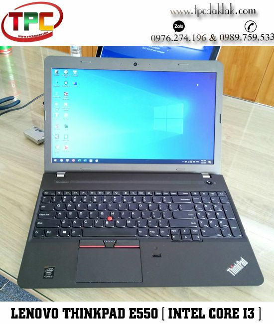 "Laptop Lenovo Thinkpad E550 / Core I3 4005U / Ram 4GB / Graphics 4400 / HDD 500GB / LCD15.6""HD"