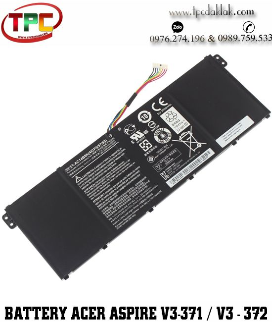 Pin Laptop Acer Aspire  V3-371, V3-372  V3-331 Series | Battery Acer Aspire V3-371 V3-372 Original
