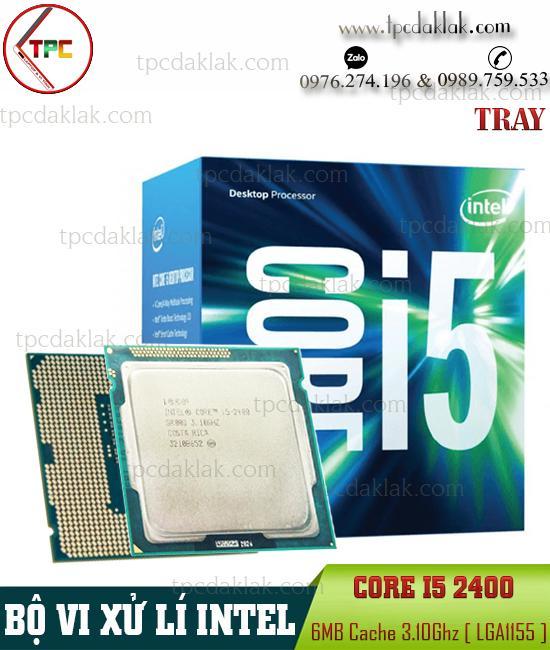 Bộ xử lý Intel® Core I5 2400 Intel – Sandy Bridge| CPU Intel® Core I5 2400 Processor 3.10GHz LGA1155