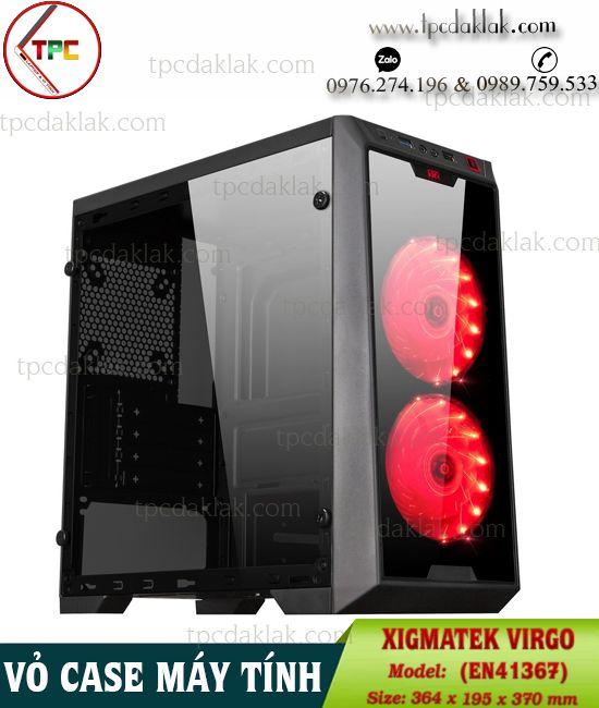 Vỏ ( Case ) máy tính bàn XIGMATEK VIRGO (EN41367) | Case Nguồn Desktop XIGMATEK VIRGO (EN41367)