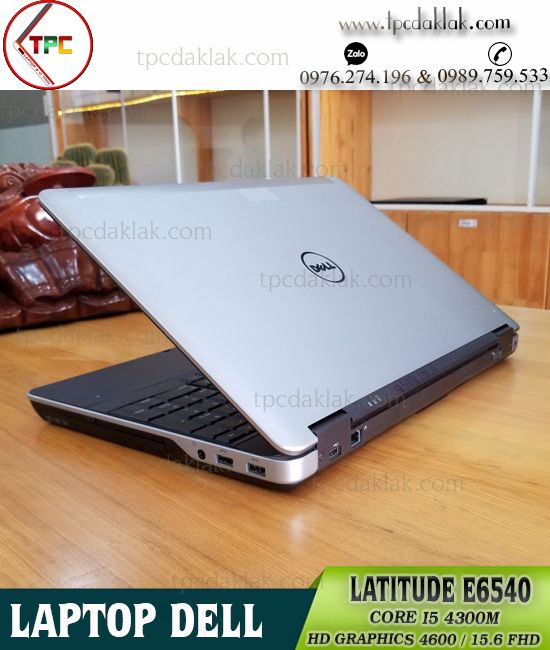 Laptop Dell Latitude E6540 | Core I5 4300M | Ram 4GB| SSD 128GB | HD Graphics 4600 | LCD 15.6 HD