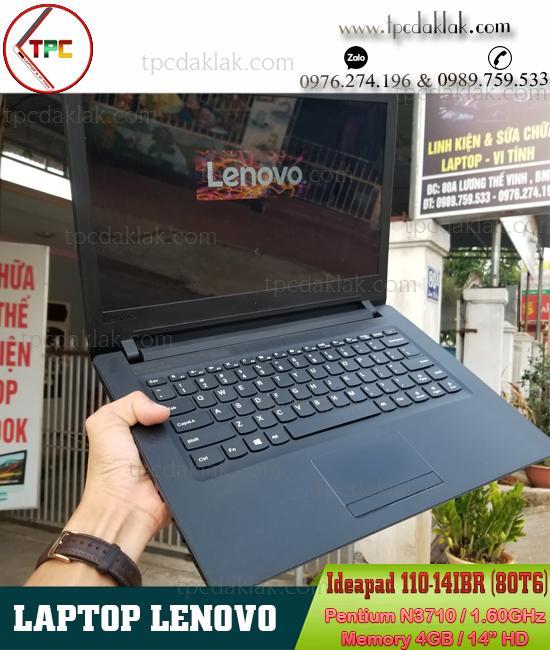 Laptop Lenovo Ideapad 110-14IBR (80T6) | Pentium N3710 | 4GB Ram | 128Gb SSD | LCD 14-INCH HD