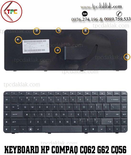 Bàn phím Laptop HP Compaq CQ62 G62 CQ56 G56 Compaq 56 62 G56 G62 CQ62 CQ56 CQ56-100