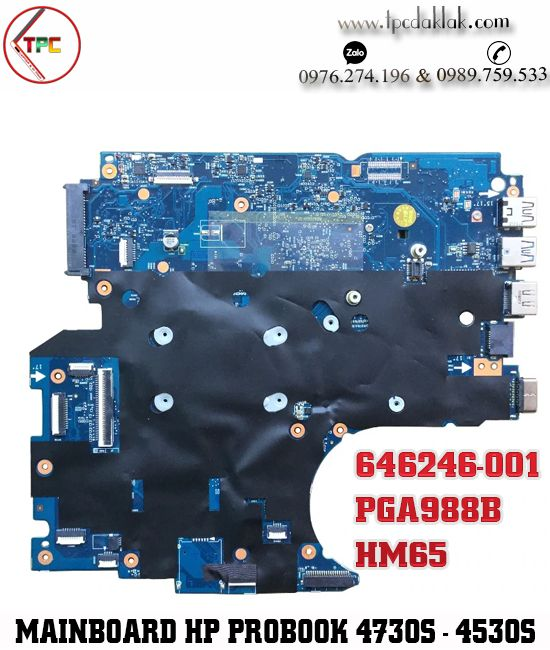 Mainboard HP ProBook 4730s - 4530s |Motherboard 670795-001- 6050A2465501-MB-A02 HM65