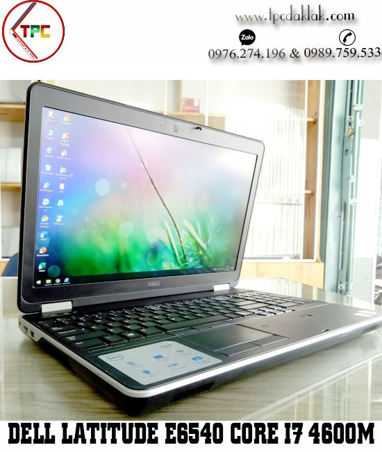 Laptop Dell Latitude E6540 | Core I7 4600M | Ram 8GB| SSD 256GB | AMD 8790M 2GB | LCD 15.6 FHD