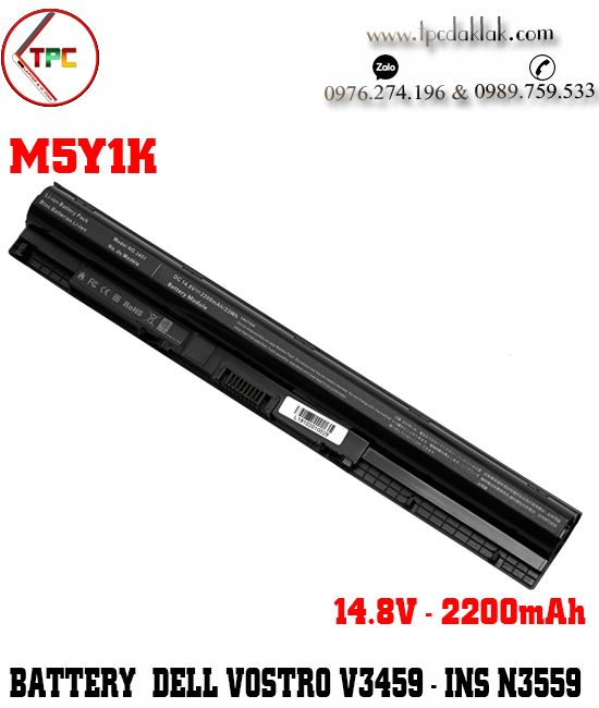 Pin Laptop Dell Vostro 14 V3459 Original 14.8V 2200mAh ( 4Cell ) - Battery Laptop Dell Vostro 3459