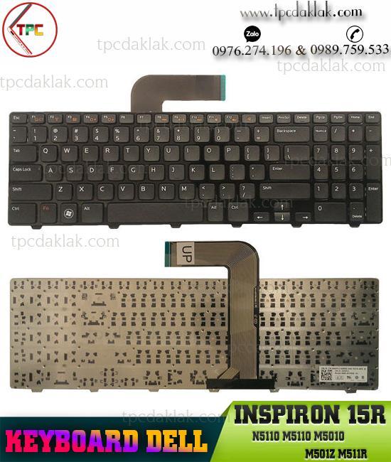 Bàn phím ( Keyboard ) Laptop Dell 15R N5110D, M501Z, M5110, M511R, 15RD-2528, 15RD-2728, 15RD-2428