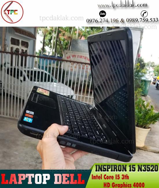 "Laptop Dell Inspiron 15 N3520 | Intel Core I5 3210M | Ram 4GB | HDD 500GB | Graphics 4000 | 15.6"" HD"