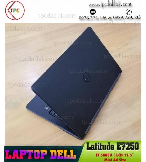 Laptop Dell Latitude E7250/ I5 5200U/ Ram 4GB/ SSD 128GB/ HD Graphics 5500/ LCD 12.5- INCH HD