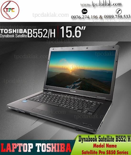 "Laptop Toshiba Satellite B552/H | Intel Core I3 3210M | Ram 4GB | HDD 320GB | Graphics 4000 | 15.6"" HD"