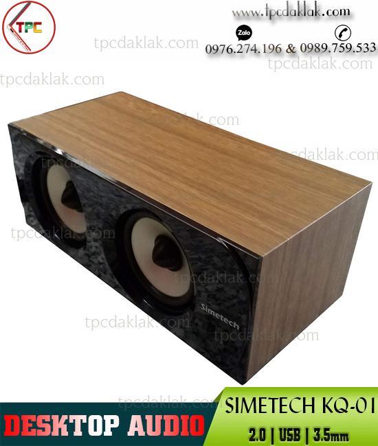 Loa Nghe Nhạc Simetech KQ-01 2.1 - USB, Audio 3.5mm | Loa Máy Tính, Loa Laptop Simetech Mini KQ-01