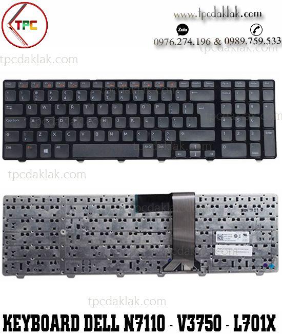 Bàn phím laptop Dell Inspiron 17 N7110 - 5720 - 7720, Dell Vostro 3750, XPS 17R L702X, L701X