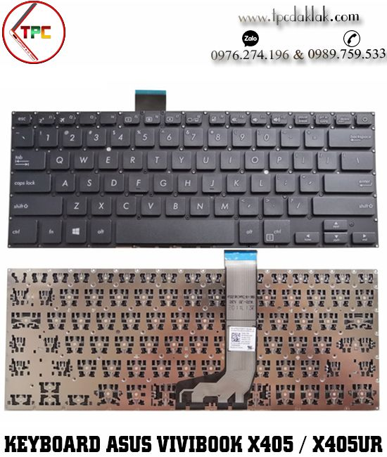 Bàn phím Laptop Asus Vivobook X405 X405U X405UA X405UQ X405UR X405 X405U  Series ( Original )