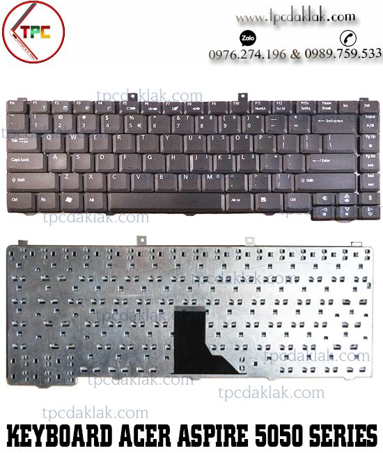 Bàn phím Laptop Acer Aspire 1400, 1600, 5000, 5002LM, 5040, 5600, Extensa, 2300, 2600, 3000
