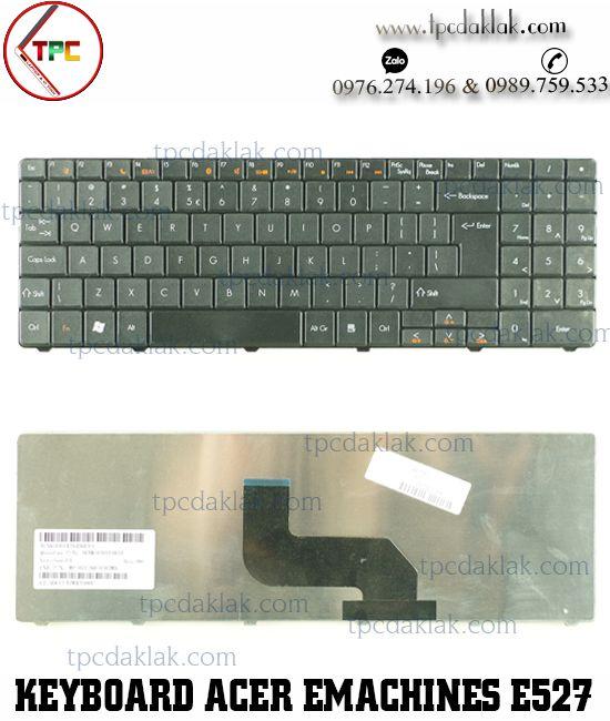 Bàn phím Laptop Acer eMachines E625, E627, E725, E727, E525, E527, Acer Aspire  5517 / 5532