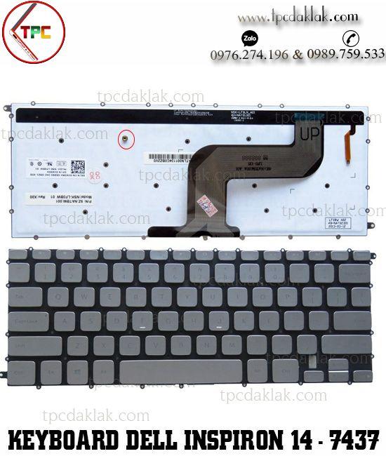 Bàn phím laptop Dell Inspiron 14 - 7437 , Dell Inspiron 14 7000 - N7437 | Keyboard Dell N7437