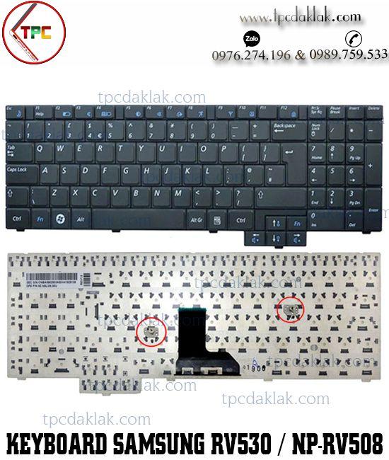 Bàn phím Laptop Samsung  R528, R530, R540, NP-R620, R525, NP-R525, R517, R523, NP-RV508, E452