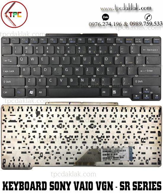 Bàn phím Laptop Sony Vaio VGN-SR Series | VGN-SR11M, VGN-SR12G/B , 148088381, NSK-S710U