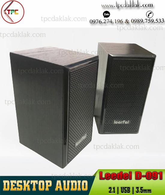 Loa Nghe Nhạc DeeFei D-091 2.1 - USB, Audio 3.5mm | Destop, Laptop Audio Mini DeeFei D-091