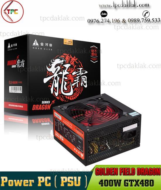 Nguồn máy tính ( PSU ) Golden Field Dragon 400W GTX480  Nguồn Máy Vi Tính CST Dragon GTX480