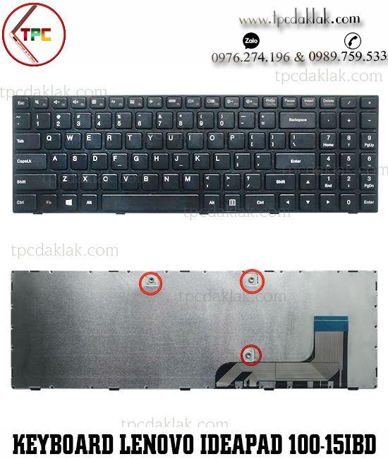 Bàn phím Laptop Lenovo Ideapad 100-15IBY, 100-15IBD, B50-50, 300-15, SN20J78609 ( Cable Một Bên )