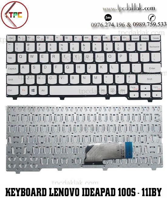 Bàn phím Laptop Lenovo Ideapad 100S - Lenovo Ideapad 100S-11IBY | 5CB0K48394 ( White )