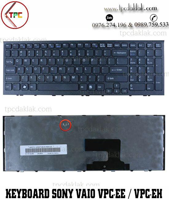 Bàn phím Laptop Sony Vaio VPC-EE / VPC-EH / PCG-71A11T | AEHK1U00120, NSK-SB0SQ ( Màu Đen )