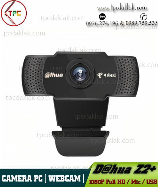 Webcam Dahua Z2+ Full HD 1080p ( Video & Mic ) | Camera Máy Tính  Dahua Z2+ Full HD 1080P
