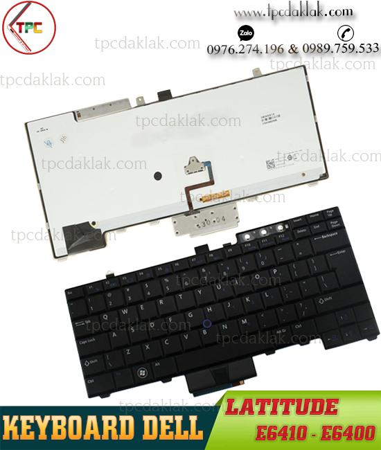 Bàn phím Laptop Dell LatitudeE6400, E6410, E6500, M2400, M4500, E6510, M4400   HT512, NSK-DB301