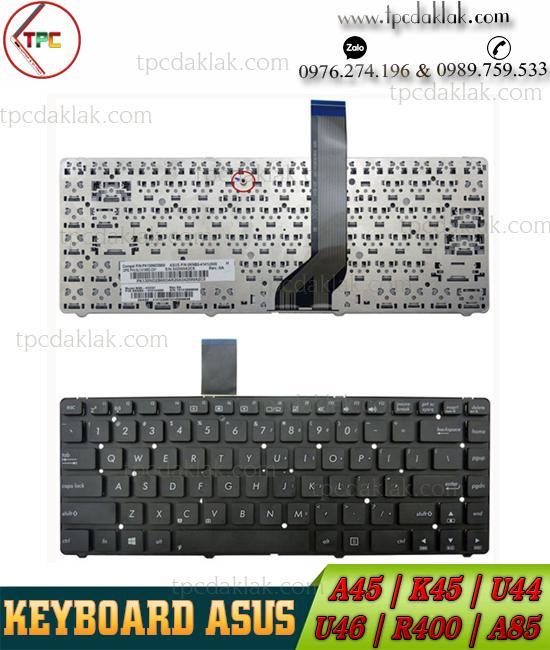 Bàn phím Laptop Asus K45VD, K45VJ, K45VM, K45VS, R400, R400VD, K45, K45A,A45DE. V111362DS1
