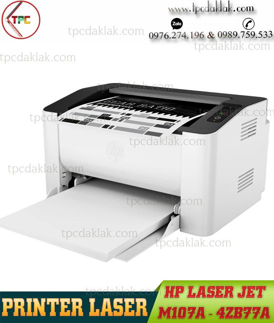 Máy In Laser Trắng Đen HP M107A (4ZB77A) | Printer HP LaserJet M107A - In Một mặt A4, A5, B5 ( USB 2.0 )