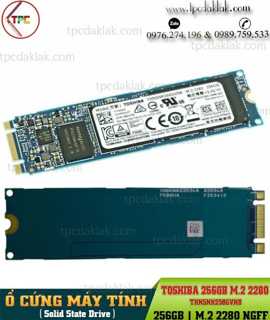 Ổ cứng SSD PCIe M.2 2280 256GB Toshiba THNSNK256GVN8 | Ổ cứng máy tính M2 2280 SSD 256GB