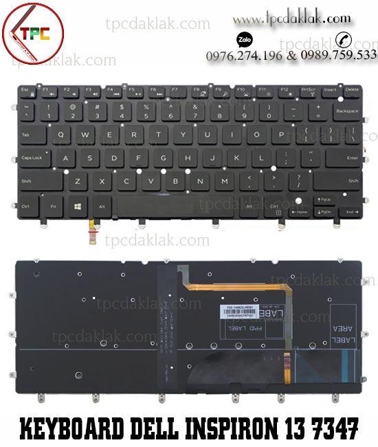 Bàn phím Laptop dell Inspiron 13 7000 7347 7352 7353 7359 7348 LED | Dell Inspiron 13 7000